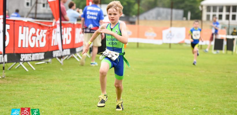 FINISH Henley Kids Triathlon
