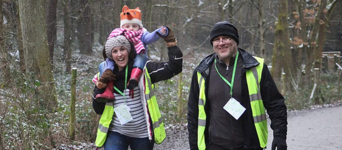Marshal Takeover at Wyre Forest Park Run